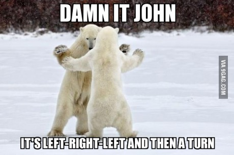 Le bear polar dancing :) Always thing about Arthur when I see polar bear!
