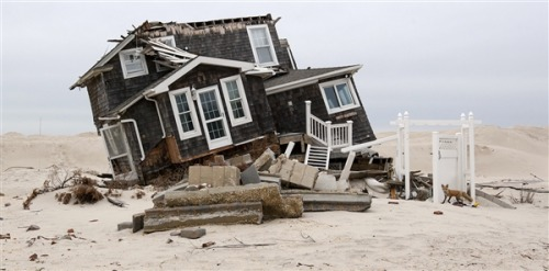 nbcnews:  Six months after Sandy: 'Home sweet home' for some, others still adrift (Photo: John Makely / NBC News) BREEZY POINT, N.Y. — The construction noises are almost constant at daytime in this coastal enclave six months after Hurricane Sandy, but for many residents whose homes were badly damaged, recovery is moving at a slow pace – or not at all. Read the complete story and explore our photo interactive: Breezy Point then and now.