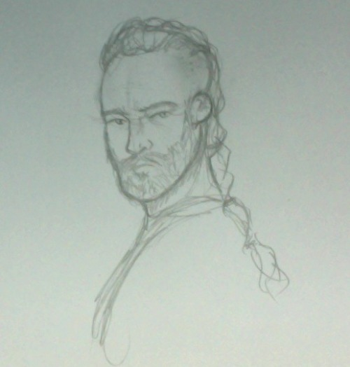 I'm too lazy to go to my scanner. HERE HAVE SOME RAGNAR LOTHBROK.