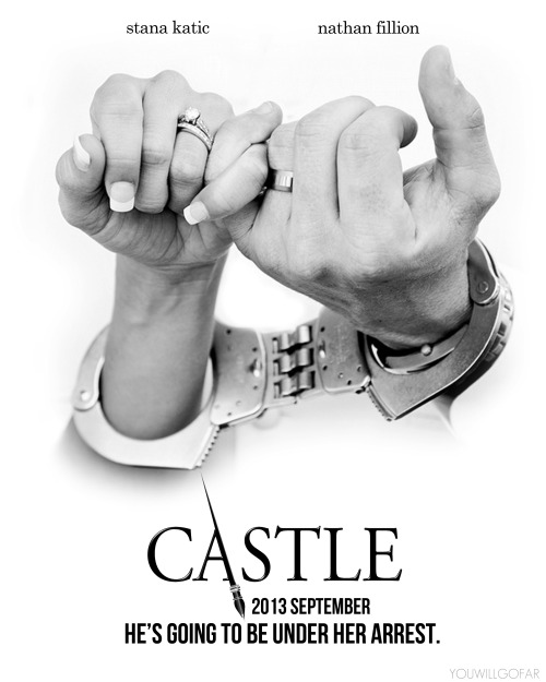 CASTLE | He's going to be under her arrest.