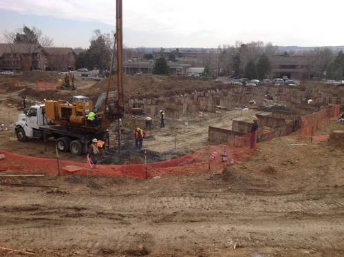 Construction progress on BHP's newest affordable senior community
