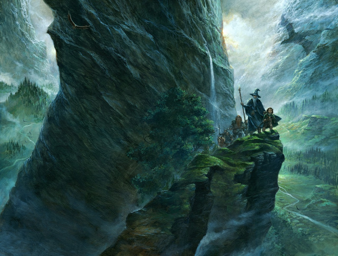 The Hobbit by Didier Graffet