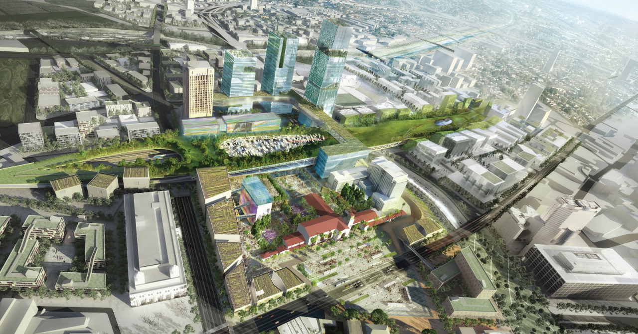 #ARCHITECTURE #RENDERINGS Los Angeles, USA | Union Station 2050 | NBBJ and Ingenhoven Architects Mastering Autodesk Viz Render 2006: A Resource For Autodesk Architecural Desktop Users 9 new from $47.96 16 used from $8.72 SOURCE | 12.05.2013 | 14.24 High resolution renderings (showcase) http://www.skyscrapercity.com/showthread.php?t=1141539