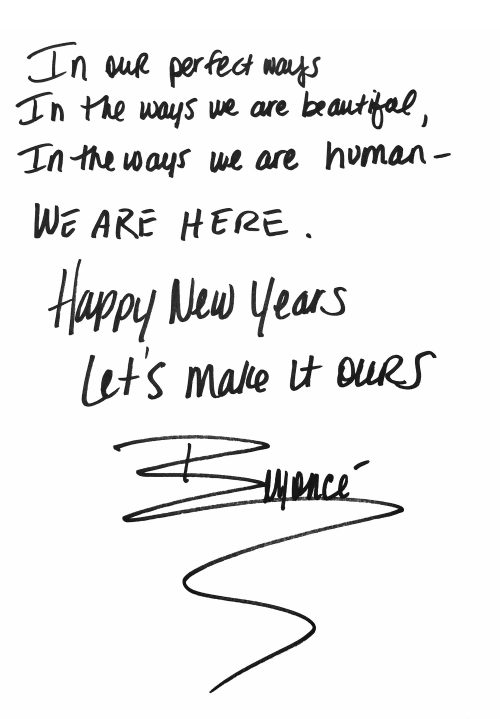 """Happy New Years…Lets make it ours""…"