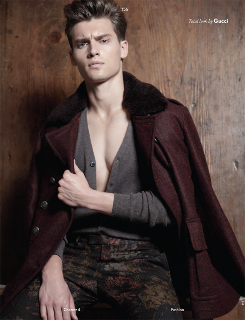 Vladimir Ivanov by Saverio Cardia for Fucking Young! magazine