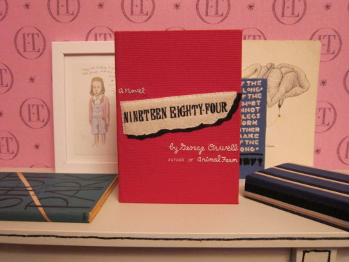 olympialetan:  1984 book-clutch by Olympia Le-Tan, special order red edition.