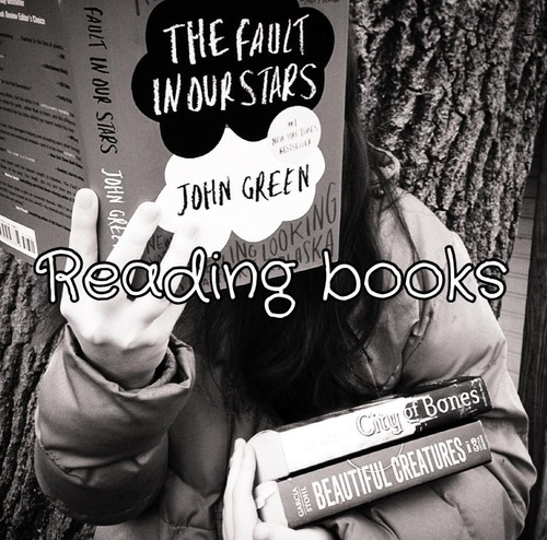 believe-in-me127:  Reading Books | via Tumblr on @weheartit.com - http://whrt.it/10hOBKp