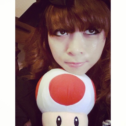 Just Toad and I again. :P #Toad #Asian #viet #vietnamese #anime #videogames #cute #kawaii #me #kimisays