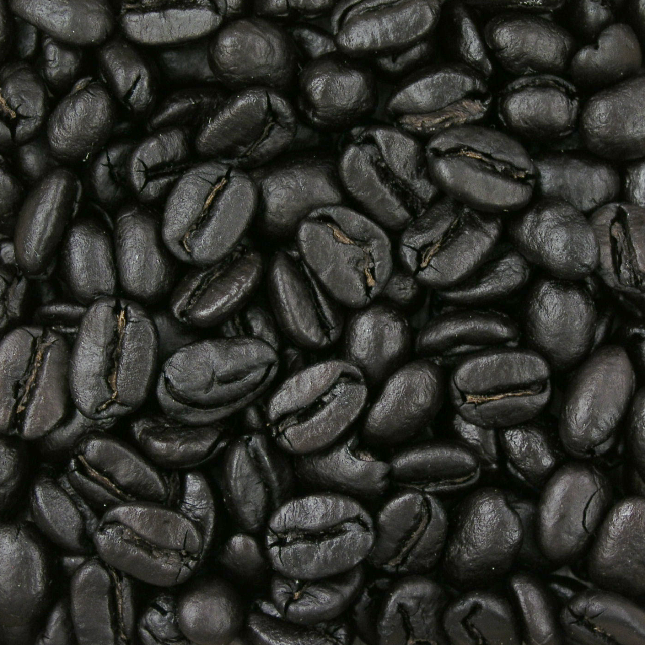 250 °C (482 °F) Spanish Roast Extremely dark brown, nearly black and very shiny, charcoal and tar tones dominate, flat, with thin body.