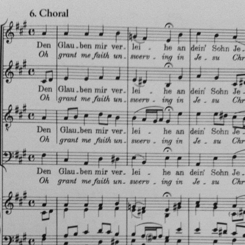 #choir  #music  #bach
