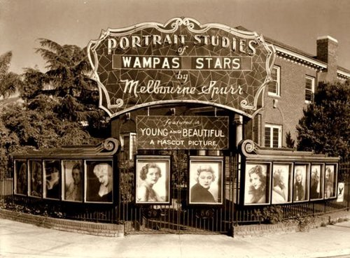 mothgirlwings:  Wampas Baby Stars portrait studios in Hollywood, California - 1934