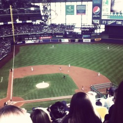 my favorite time of the year <3 #baseball #brewers ⚾❤