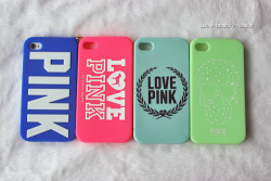 jenna-canon:  my victorias secret cases I have :3