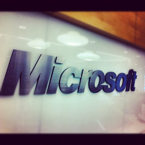 Microsoft headquarters — where computer intelligence is created. (at Microsoft Studio X)
