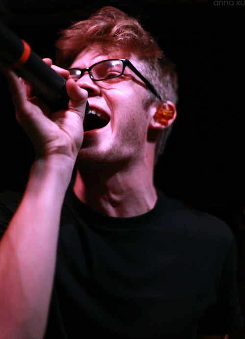 annaxuphotographs:  Sam Miller || Paradise Fears Houston, TX 1/19/13 House of Blues Bronze Peacock Resolution Tour