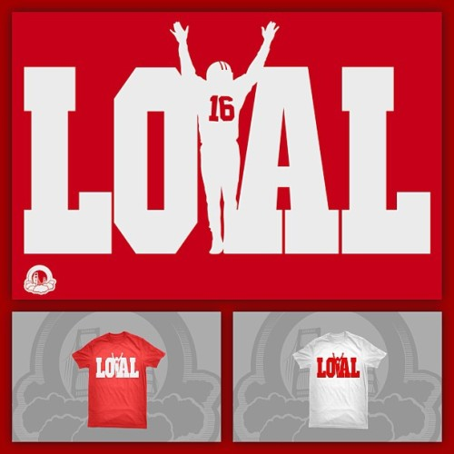 baysicsclothing:  Win Or Lose We Stay Loyal. Legends Never Die!!! Loyal Joe now at www.Baysicsclothing.com #Loyal #LoyalToMySoil #49ers #SF #SanFrancisco #BaysicsClothing #RedAndGold #Faithful #PlayoffFootball
