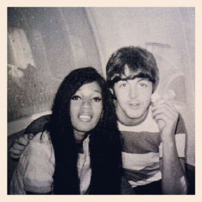 #paulmccartney #macca #couple #interraciallove