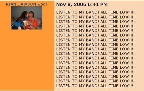 jack-baratit:  Rian is the reason for All Time Low's success. I just know it.  I CHOKED ON MY WINE LAUGHING AT THIS