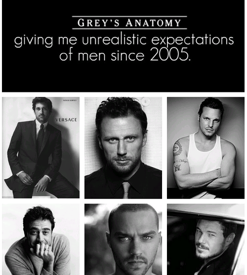 greysanatomyaddict:  *Drool*  Omg omg omg I can't breathe! They're all soo hot!