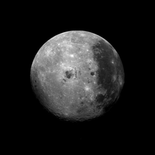 distant-traveller:  The far side of the Moon Image credit: NASA