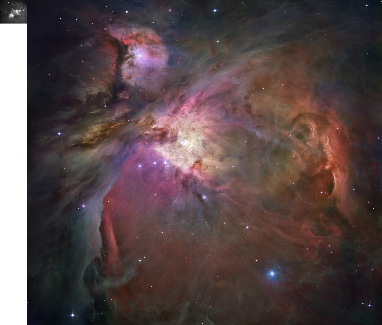 fromquarkstoquasars:  First Ever Image of Orion (left) & Most Advanced Image Ever (right):Want to see how much technology has advanced in 100 years?Look no further…We recently posted an image of the Orion nebula across all our social media sites. This image compared the first ever photograph of Orion (taken in 1880) with an image taken in 2013 on an iPhone.Most people seemed to enjoy the comparison. However, there was a bit of a kerfuffle. Some people asserted that, to be accurate and fair, we should compare the most detailed image pf Orion with Draper's image from 1880. Your wish is our command…. First ever image of Orion by Henry Draper in 1880 (left) and most detailed image of Orion ever taken (right). Image compiled by From Quarks to QuasarsRead more about this story at:http://www.fromquarkstoquasars.com/?p=28189