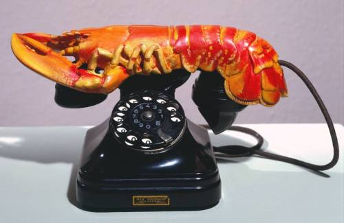 Lobster Telephone, 1936 by Salvador Dalí