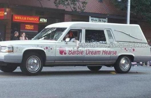 Seattle's favorite girlie funeral limo!