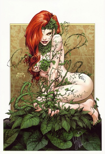 Poison Ivy print by Joe Benitez