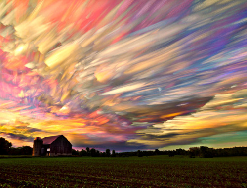 photohab:  Smeared Skies by Matt Molloy
