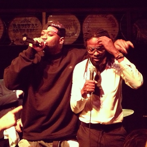 Ghostface and Adrian Young (at Mississippi Studios)