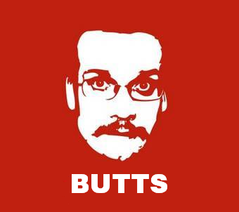 nerdfightersdontfightnerds:  #replaceawordinanerdfighterthingwithbutts What a treacherous thing to believe that a butt is more than a butt The thing about butts is that they demand to be felt You will go to the paper butts and you will never come back! The way I figure it, everyone gets a butt. My thoughts are farts I cannot fathom into poops  IT'S NOT MY FAULT MY PARENTS OWN THE WORLD'S LARGEST COLLECTION OF BUTT SANTAS