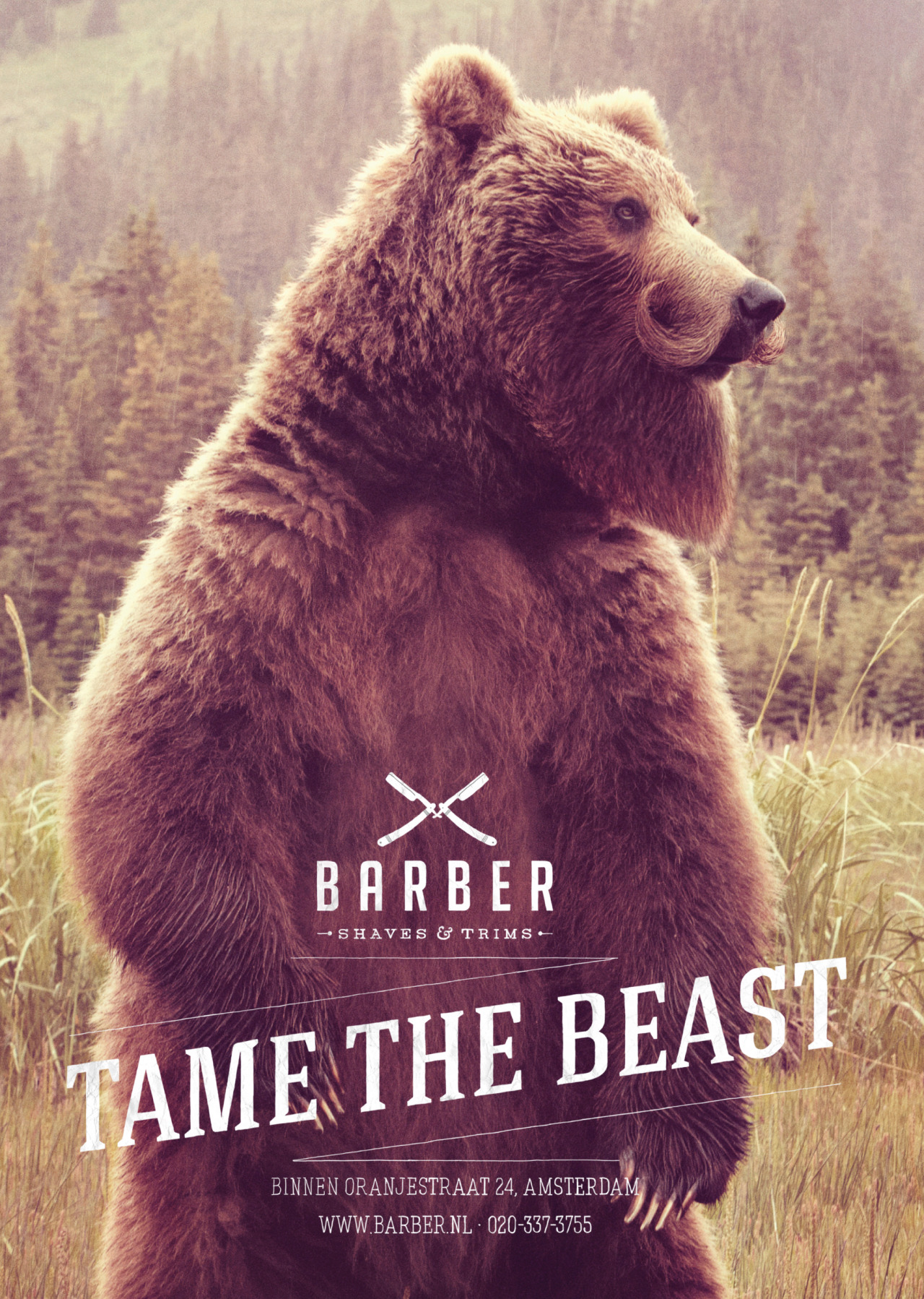 helloyoucreatives:  Tame the beast by 180 Amsterdam.