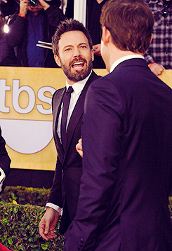 Ben Affleck and John Krasinski at the 19th Annual Screen Actors Guild Awards