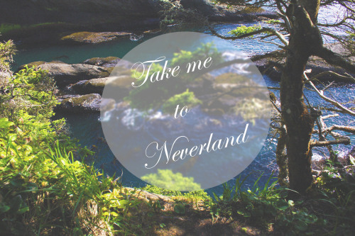 Took this photo on a class camping trip. Decided to do a quick edit for my lovely friend who said the place we hiked to made her think of Neverland. Also this seemed Tumblr-y.