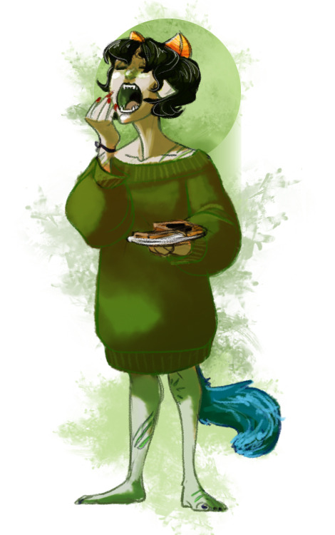 skarita:  Petitions for all future renditions of Nepeta and Equius to include adorable friendship bracelets.
