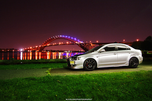Lights will guide you Starring: Mitsubishi Lancer Evo X (by Morice Colon)