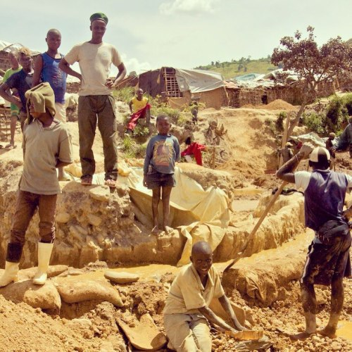 inkivu:  Young miners and soldiers in a conflict gold mine in the Congo  Report on M23 & the DRC  |  Rebel Group's Quest to Liberate Congo
