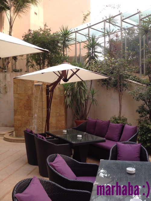 On a lazy morning.. :) www.meandbeirut.com Gefinor Rotana Hotel, Beirut #beirut #lebanon