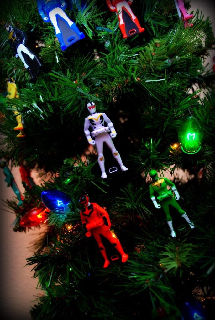 Aaahhhmazeballs Close Up Of Our Christmas Tree I
