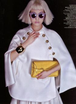 Tom Binns Design Off the Cuff cuff is in Harper's Bazaar Korea