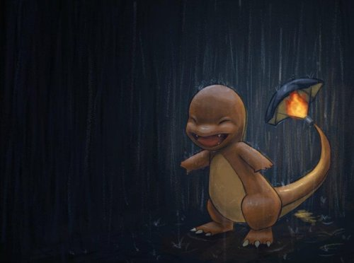alternativepokemonart:  Artist Charmander by request.