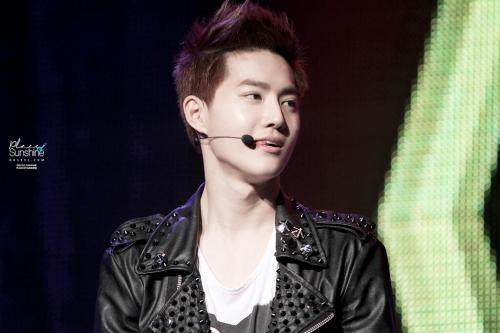 Suho - 130515 2nd K-Pop Youth Culture Festival Credit: Place of Sunshine. (제2회 K-POP 청소년 문화 페스티벌)