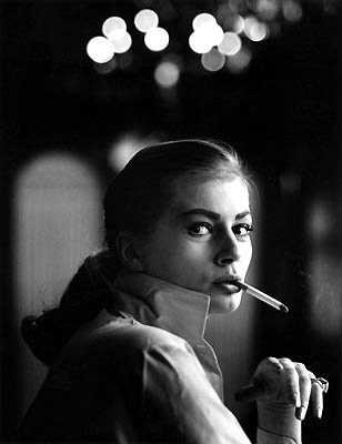 Anita Ekberg  Photo: Georg Oddner, Malmö Sweden, 1953