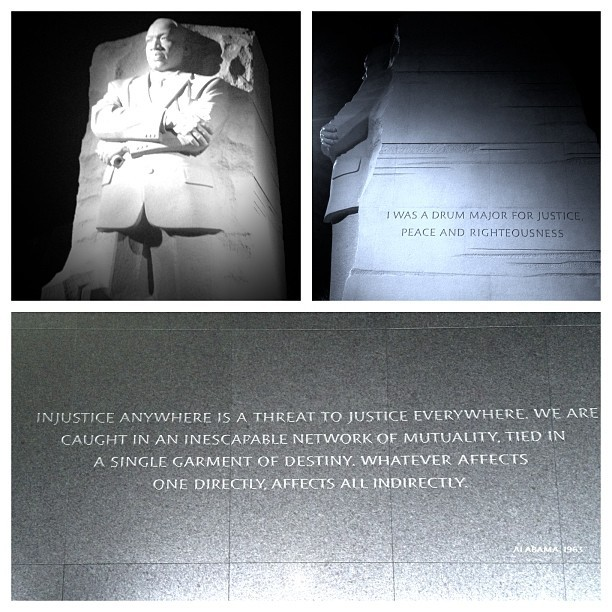 Still inspiring…still work to be done! MLK Memorial - #DC