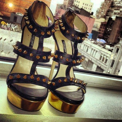 "Good Morning, #NYC… Meet the @Ruthie_Davis ""Bartley"" Gladiator… COMING SOON…"
