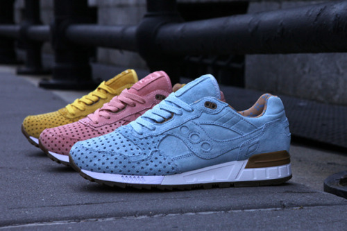 "streetmarketstore:  Play Cloths x Saucony Shadow 5000 ""Cotton Candy Pack"" http://bit.ly/180QOhU"