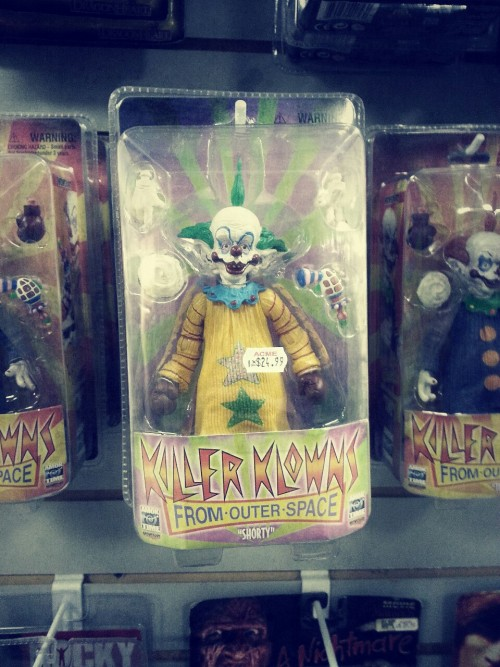 So they make Killer klowns from outer space action figures now… But I am not a fan of the $25 price tag.
