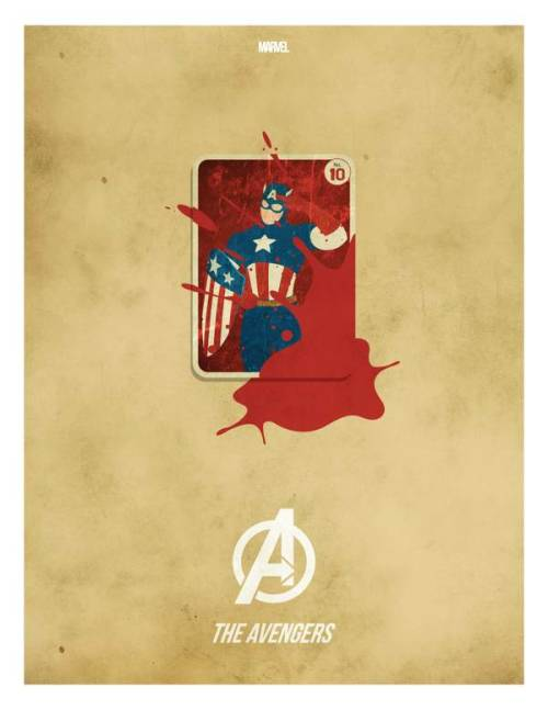 geekmythology:  AVENGERS Minimalist Movie Poster