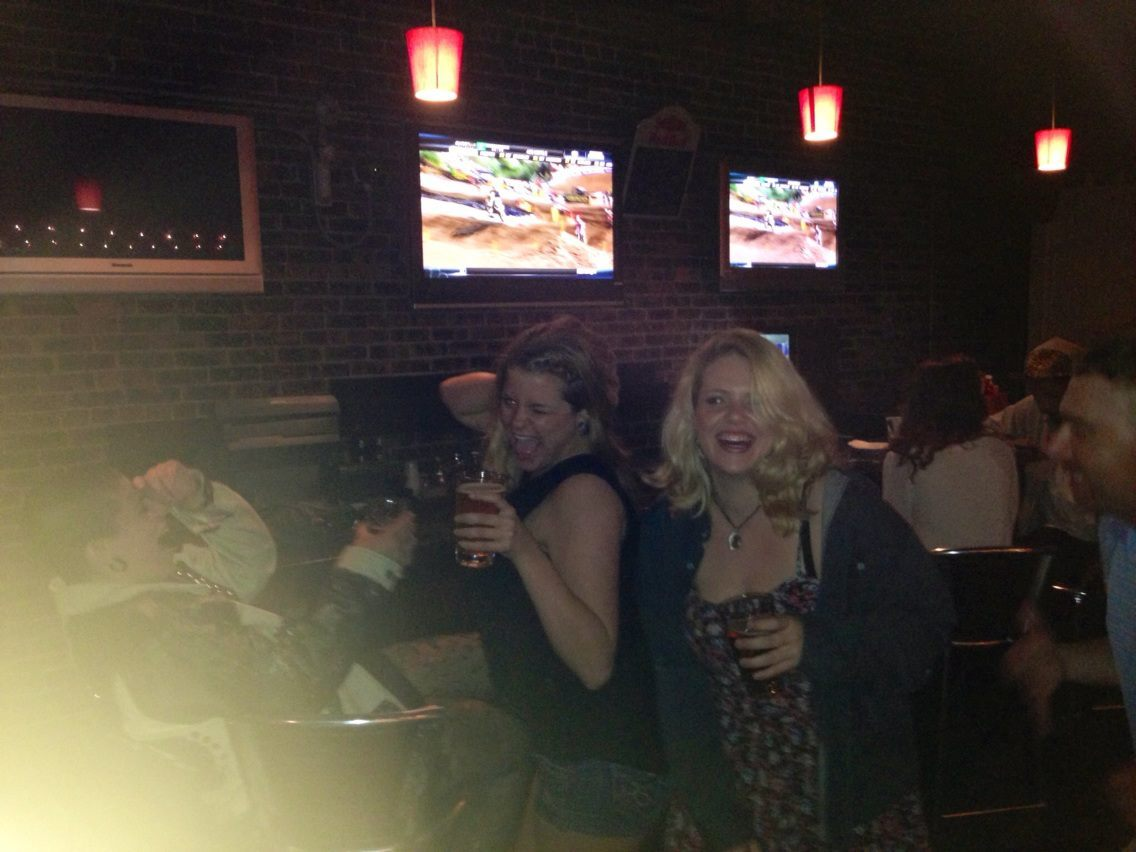 picture of me and a couple friends at a bar on Monday night.  I have no idea what was going on here.