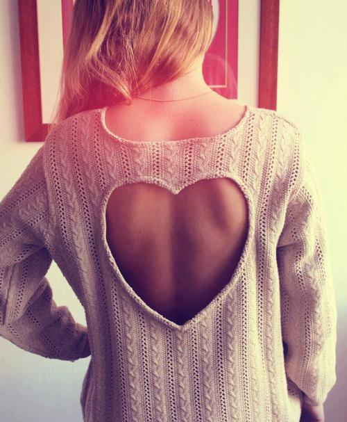 #heart #sweater #love